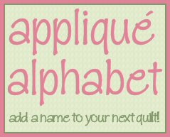 Free Letter Applique Pillow Pattern With Envelope Back